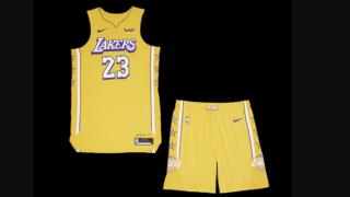 Image de l'article Nike présente l'édition City 2019-2020 du maillot des Los Angeles Lakers