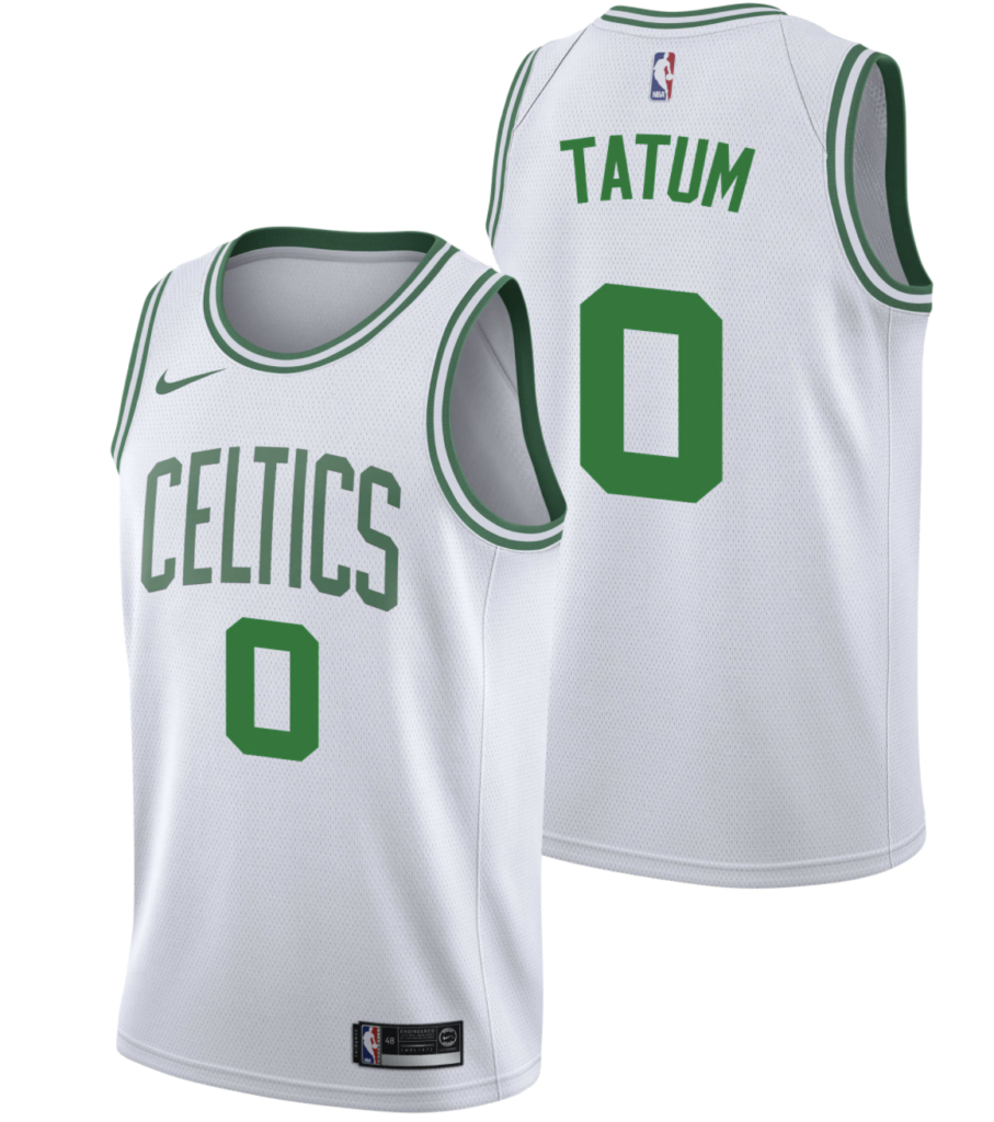 maillot association nike boston celtics jayson tatum