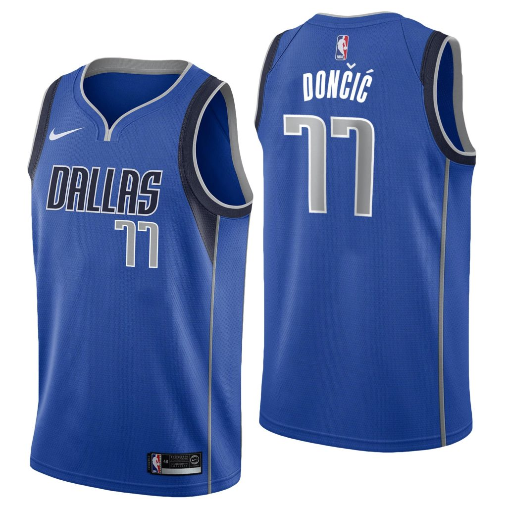 maillot luka doncic icon edition nike dallas mavericks