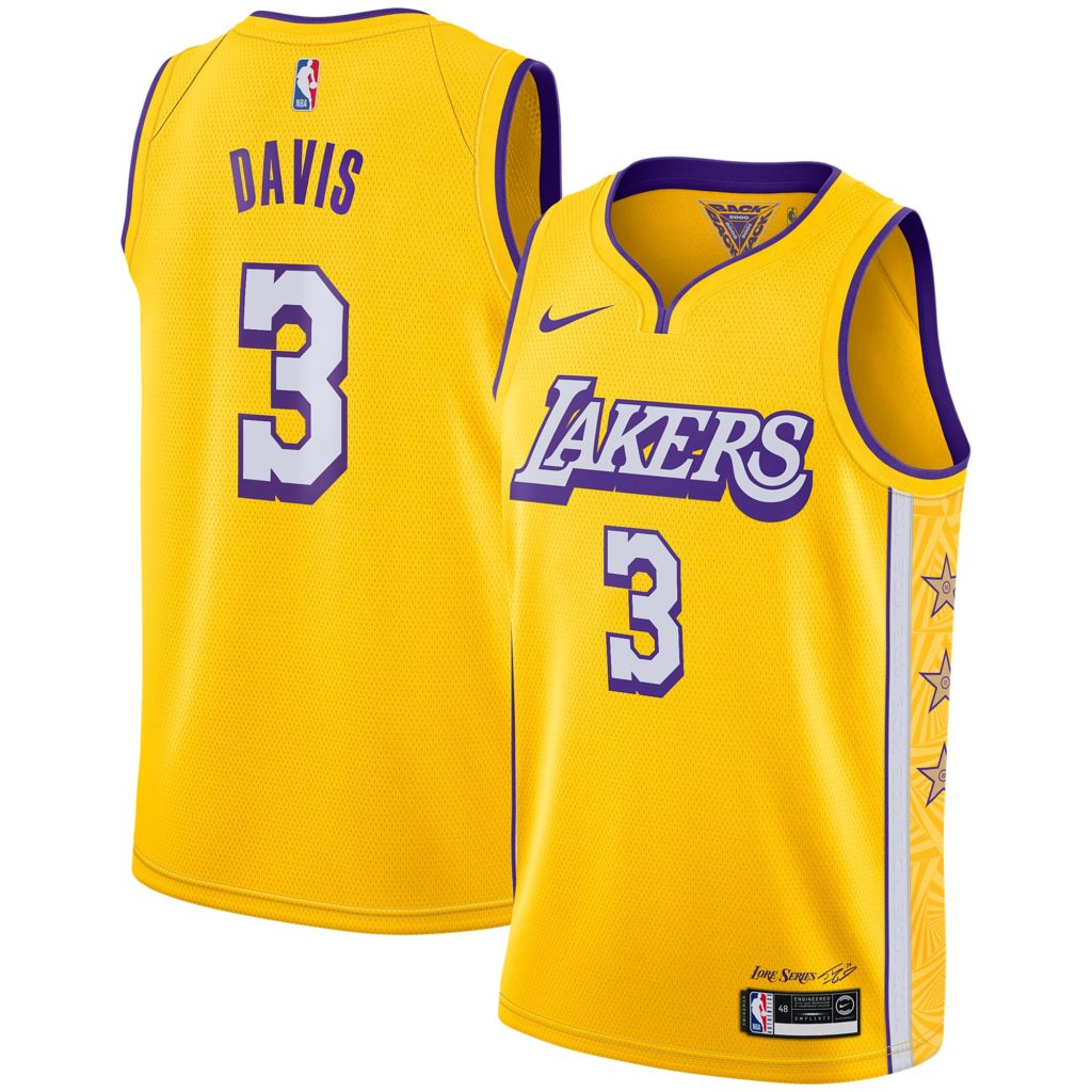 maillot city lakers anthony davis