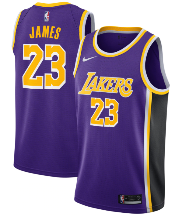 maillot statement lakers lebron james