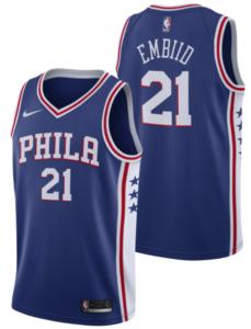Icon Edition du Philadelphia 76ers