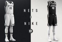 """Image de l'article Nike dévoile le maillot domicile des Brooklyn Nets : le modèle """"Association Edition"""""""