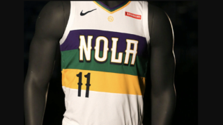 Image de l'article Nike présente l'édition City 2019-2020 du maillot des New Orleans Pelicans