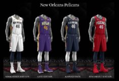"""Image de l'article Nike lance le maillot des New Orleans Pelicans 2019-2020 """"Icon Edition"""""""