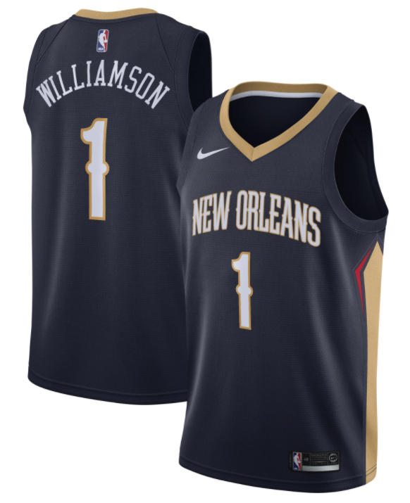 maillot icon new orleans pelicans zion williamson