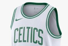 """Image de l'article Nike dévoile le maillot officiel des Boston Celtics 2019-2020 à domicile : le modèle """"Association Edition"""""""