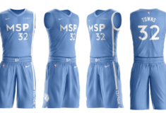 Image de l'article Nike présente les maillots officiels des Minnesota Timberwolves pour la saison 2019-2020