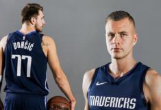 """Image de l'article Nike présente le maillot des Dallas Mavericks 2019-2020 """"Statement Edition"""""""