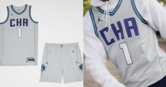 Image de l'article Nike dévoile les maillots officiels des Charlotte Hornets pour la saison 2019-2020