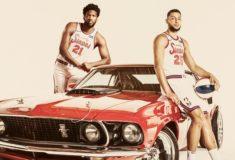 Image de l'article Nike dévoile les maillots officiels des Philadelphia 76ers pour le saison 2019-2020