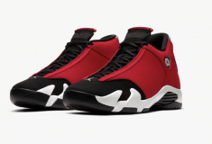 Image de l'article Une nouvelle édition pour la dernière chaussure portée par Michael Jordan chez les Bulls : la Air Jordan 14 «Gym Red»