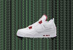 Image de l'article Air Jordan 4 Red Metallic : un nouveau coloris disponible le 20 juin