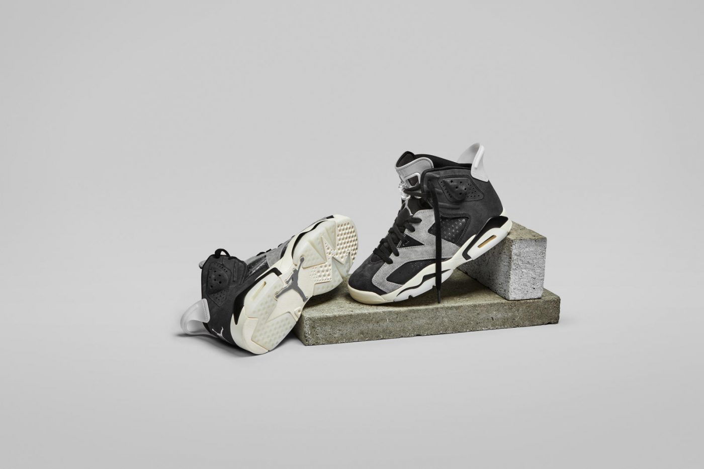 Air Jordan 6 WMNS black and grey