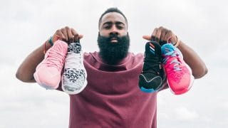 Equipements James Harden, Chaussures signatures, Maillots NBA