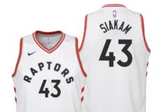 """Image de l'article Les Raptors et Nike dévoilent le maillot officiel 2019-2020 à domicile : le """"Association Edition"""""""