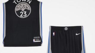 Image de l'article Nike dévoile l'édition City 2019-2020 du maillot des Golden State Warriors