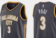 Image de l'article Nike dévoile l'édition City 2019-2020 du maillot du Oklahoma City Thunder