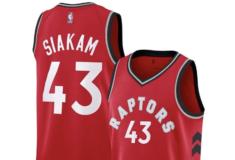 """Image de l'article Nike présente le maillot officiel des Toronto Raptors 2019-2020 à l'extérieur : la """"Icon Edition"""""""