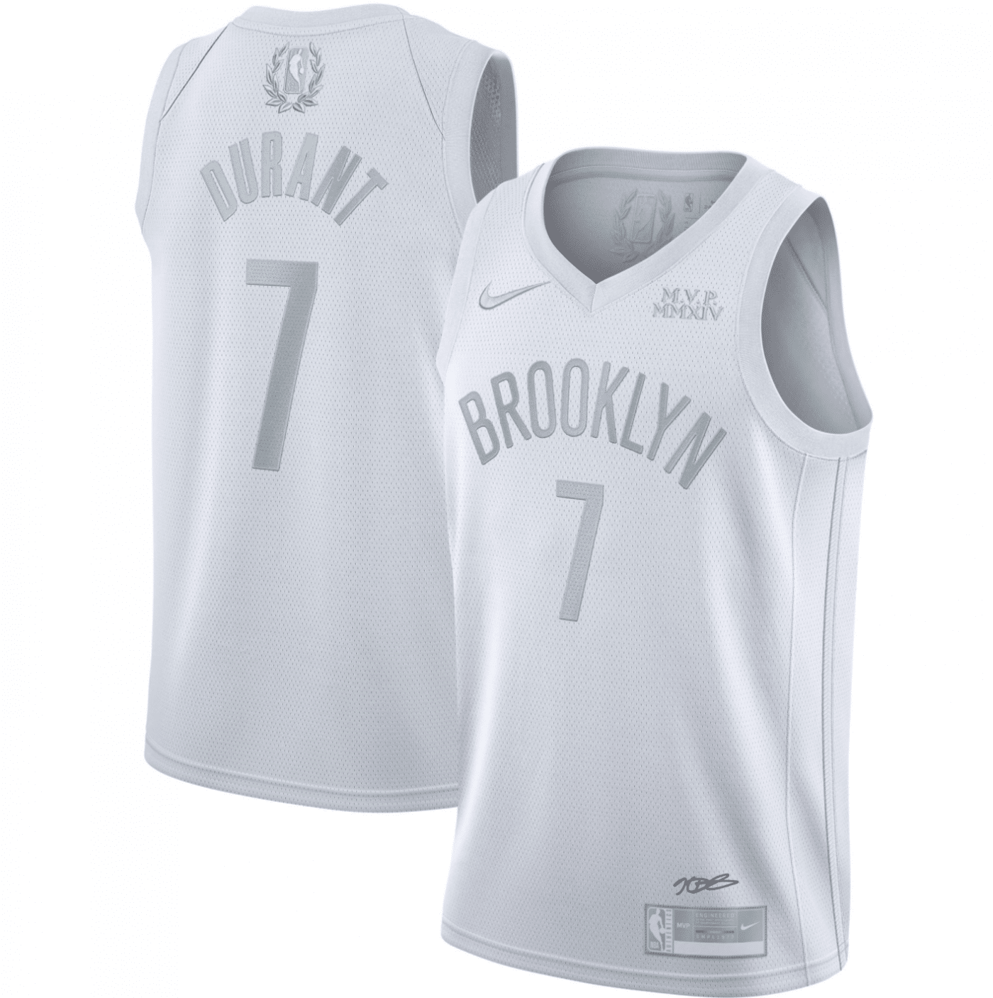 maillot nike mvp kevin durant nets