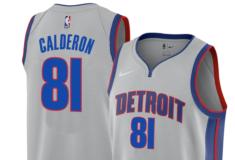 """Image de l'article Nike dévoile le maillot officiel des Detroit Pistons 2019-2020 pour les gros matchs : la """"Statement Edition"""""""