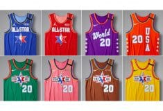 Image de l'article Les maillots du All-Star-Game 2020, par Nike et Jordan Brand