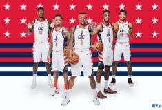 Image de l'article Les Washington Wizards et Nike présentent les maillots officiels 2019-2020 de la franchise