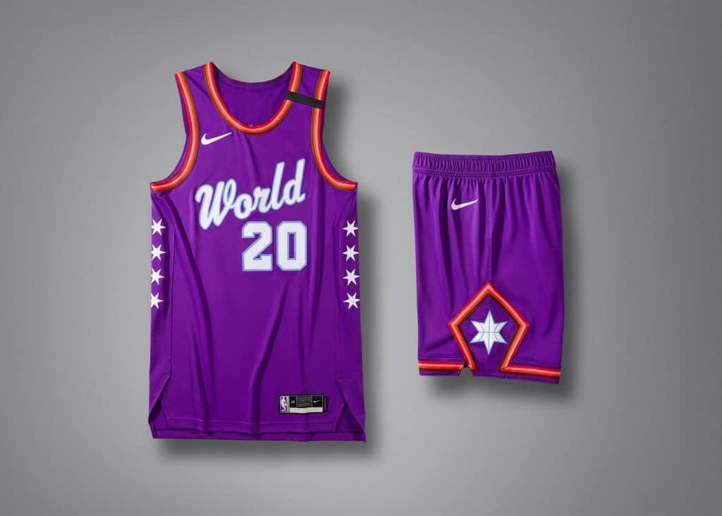 maillot rising star challenge 2020 team world