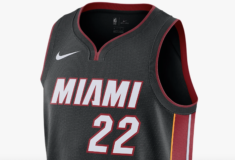 Image de l'article Le maillot Icon de Nike pour les matchs à l'extérieur du Miami Heat 2019-2020