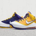 Une chaussure aux couleurs des Lakers : la LeBron 7 Media Day!