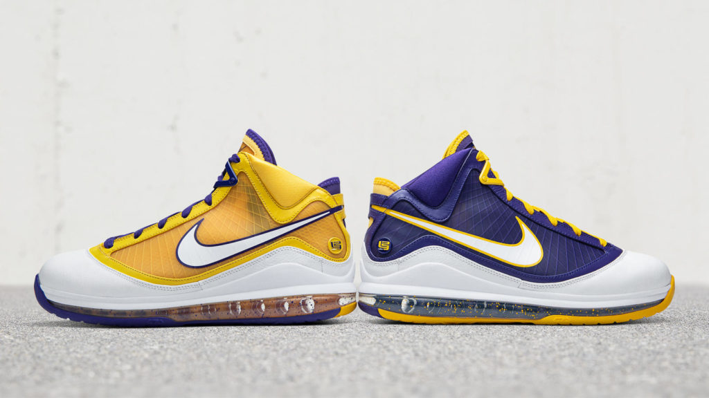 chaussure lakers nike