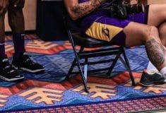Image de l'article LeBron James en plein test de la nouvelle Nike LeBron 18 ?