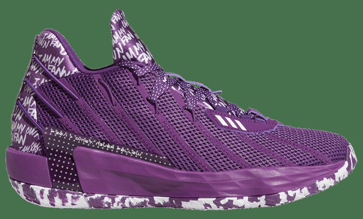 adidas dame 7 purple