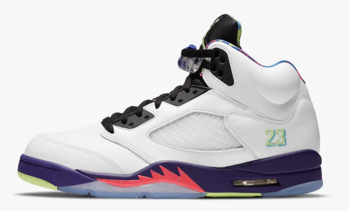 air jordan 5 ghost green bel air alternate