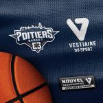 Le Poitiers Basket 86 annonce son nouvel équipementier : Vestiaire Du Sport