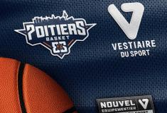 Image de l'article Le Poitiers Basket 86 annonce son nouvel équipementier : Vestiaire Du Sport