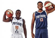 Image de l'article Les nouveaux maillots du Poitiers Basket 86 dévoilés par Vestiaire du Sport