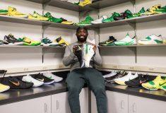 Image de l'article La Air Jordan 5 Retro Apple Green, en hommage à Oregon Ducks