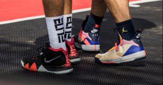 Image de l'article Choisir sa chaussure de basket : les différences entre chaussures indoor et outdoor