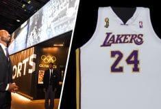 Image de l'article Un maillot des finales NBA 2008 de Kobe Bryant au Musée national de l'histoire et de la culture afro-américaine