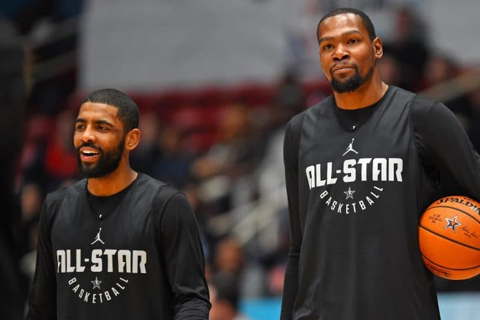kevin durant et kyrie irving projet chaussure commun nike