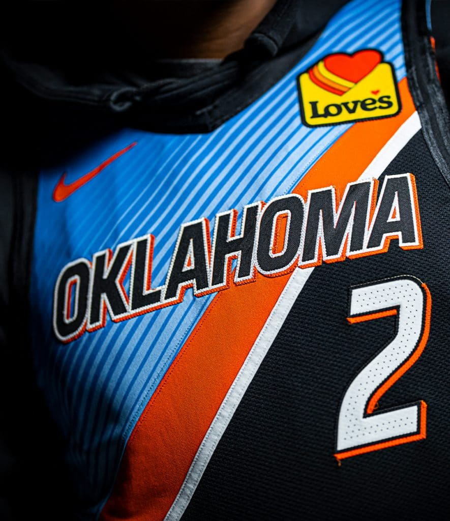 maillot city 2020 2021 oklahoma city thunder