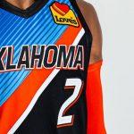 Le maillot City du Thunder d'OKC en hommage à l'Oklahoma