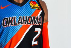 Image de l'article Le maillot City du Thunder d'OKC en hommage à l'Oklahoma