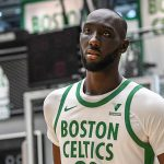 Maillot City des Boston Celtics : un hommage aux bannières de champion du TD Garden