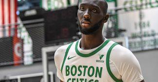 Image de l'article Maillot City des Boston Celtics : un hommage aux bannières de champion du TD Garden