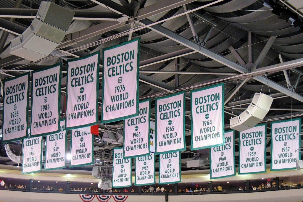 maillot city boston celtics 2020 2021 banniere champion nba