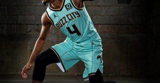 Image de l'article Le maillot City des Charlotte Hornets : un retour de «Buzz City»