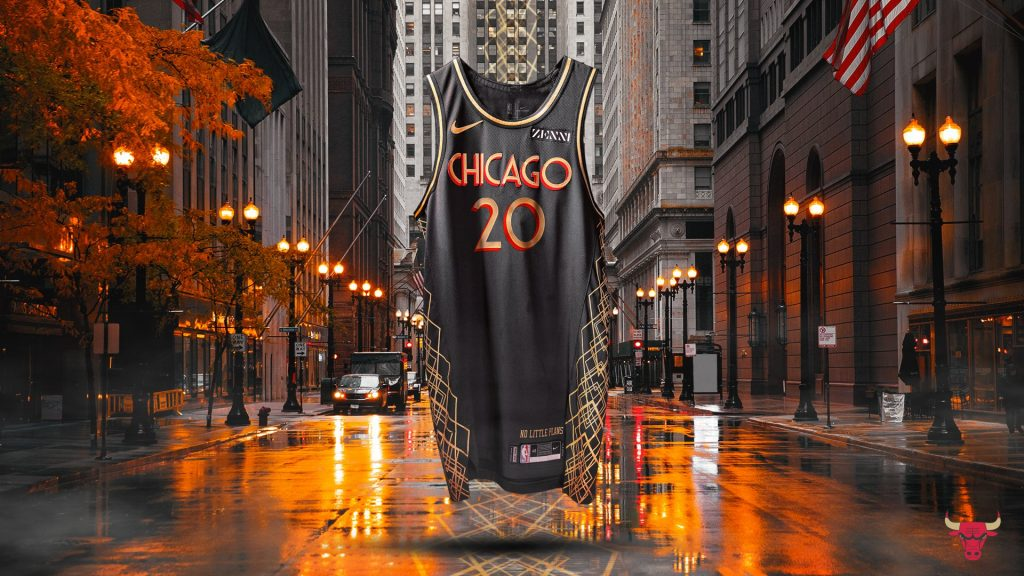 maillot city chicago bulls 2020 2021