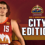 Maillot City des Denver Nuggets : une nouvelle référence aux Rocheuses